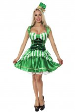 St Patrick Oktoberfest Green Irish Beer Lucky Leprechaun Costume