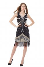 Ladies 1920s Vintage Flapper Costume
