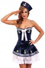 Navy Adult Sailor Fancy Costume