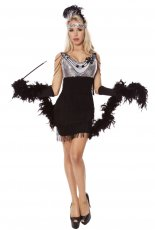 Ladies 20s 1920s Flapper Costume