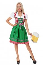 Ladies Oktoberfest Beer Maid Costume
