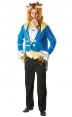 Mens Adult Beast Licensed Disney Beauty And The Beast Costume