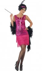 1920s 20s Laides Funtime Flapper Gatsby Chicago Jazz Costume