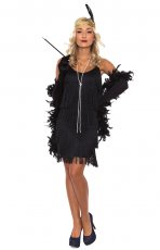 1920s Flapper Chicago Fancy Dress Costume