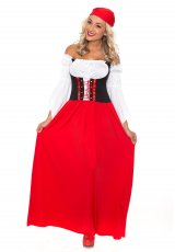 Ladies German Heidi Beer Maid Oktoberfest Costume
