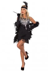 1920s Flapper Gangster Costume