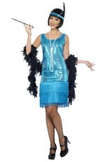 1920s Roaring 20s Flapper Costume Charleston Dress Gatsby Outfit