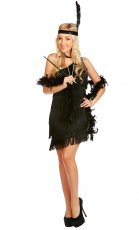 Ladies 20s Chicago Flapper Fancy Dress Costume