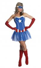 American Captain Superhero Costume