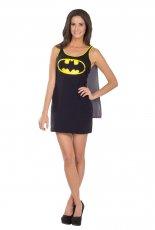 Ladies Batgirl Licensed Fancy Dress Costume