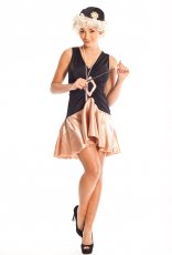 1920s Flapper Chicago Gangster Fancy Dress Costume