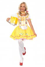 Oktoberfest Beer Maid Halloween Dress Up Costume