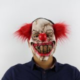 Halloween Prank Horror Scary Movie Rubber Latex Twisty Clown