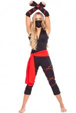 Ladies Deadly Ninja Costume