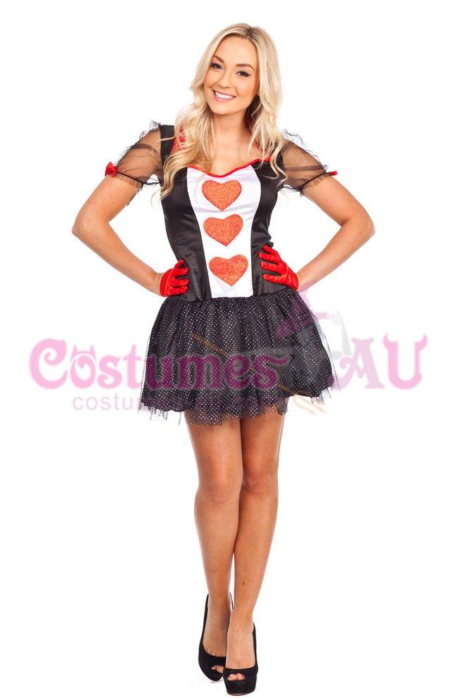 red queen alice in wonderland costume