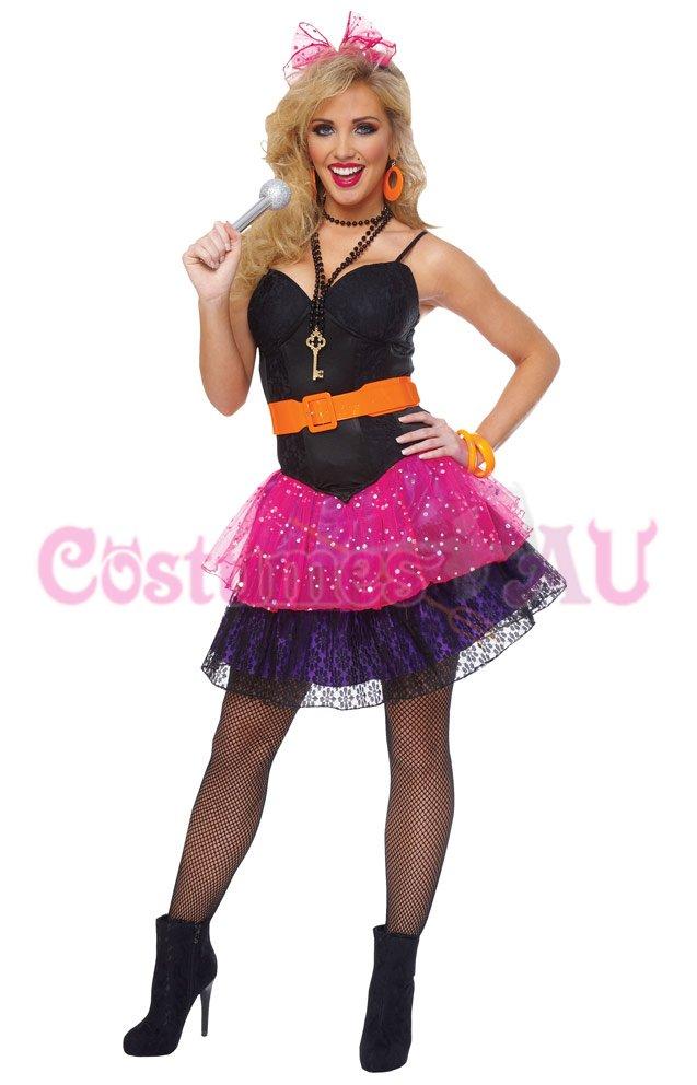 Madonna 80s pop star a cyndi lauper fancy dress hens party costume