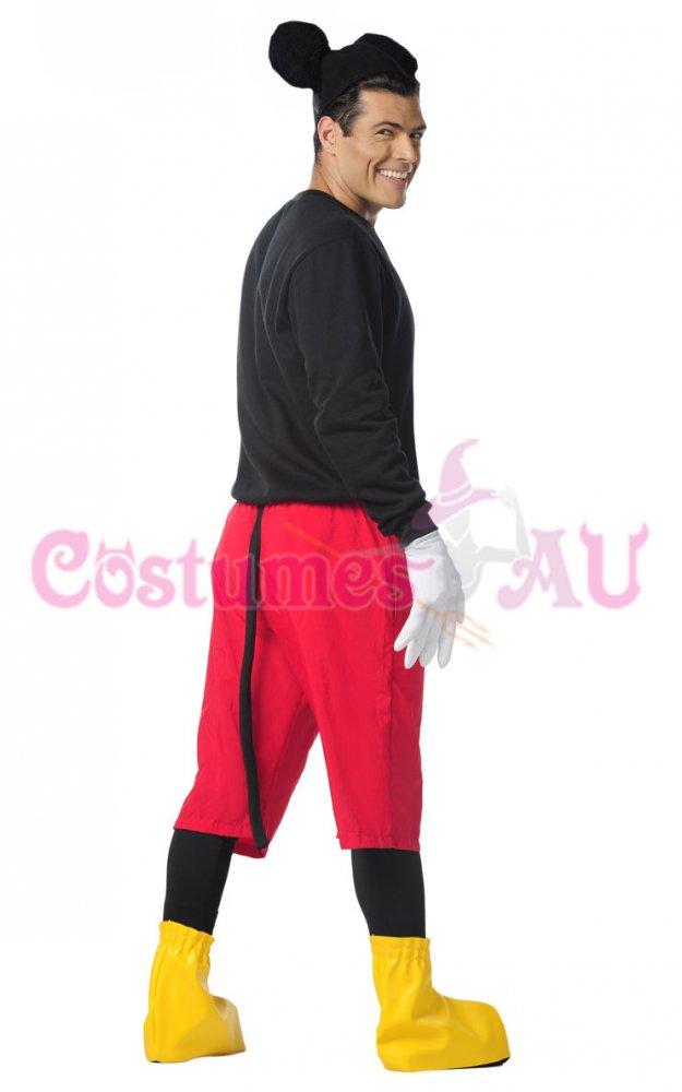 Product. Description. Mens Mouse Set  sc 1 st  eBay & Mens Disney Mickey Mouse Costume Halloween Fancy Dress Adult Outfits ...