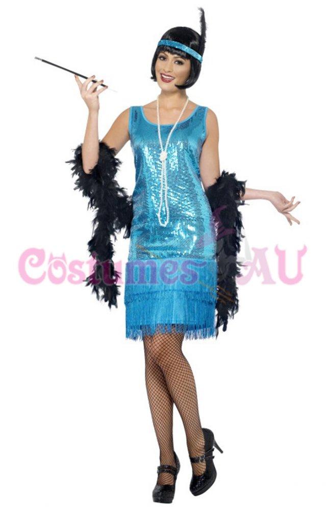 Ladies Roaring 20s Accessories Womens Charleston Costume Jewellery Fancy Dress