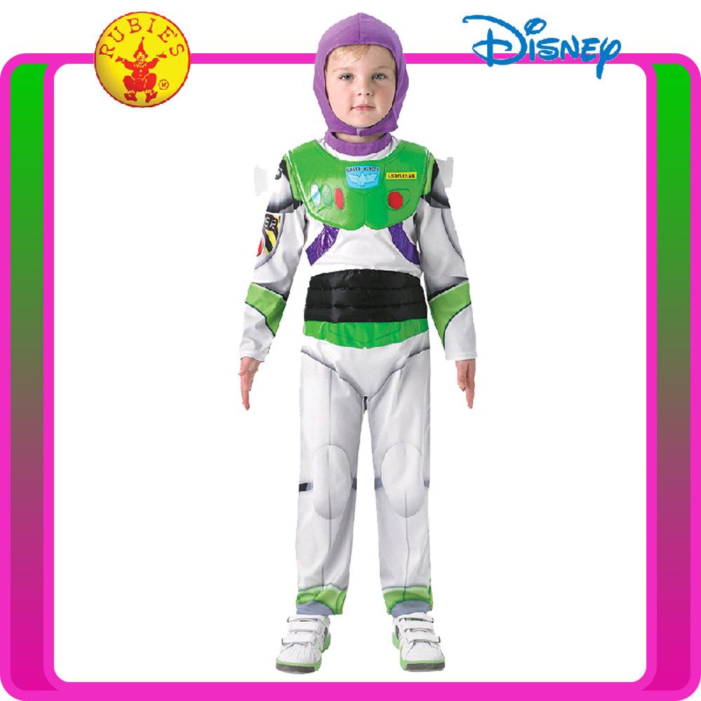 Delux Child Kids Buzz Lightyear Costume Boys Girls Disney Toy Story Book Week