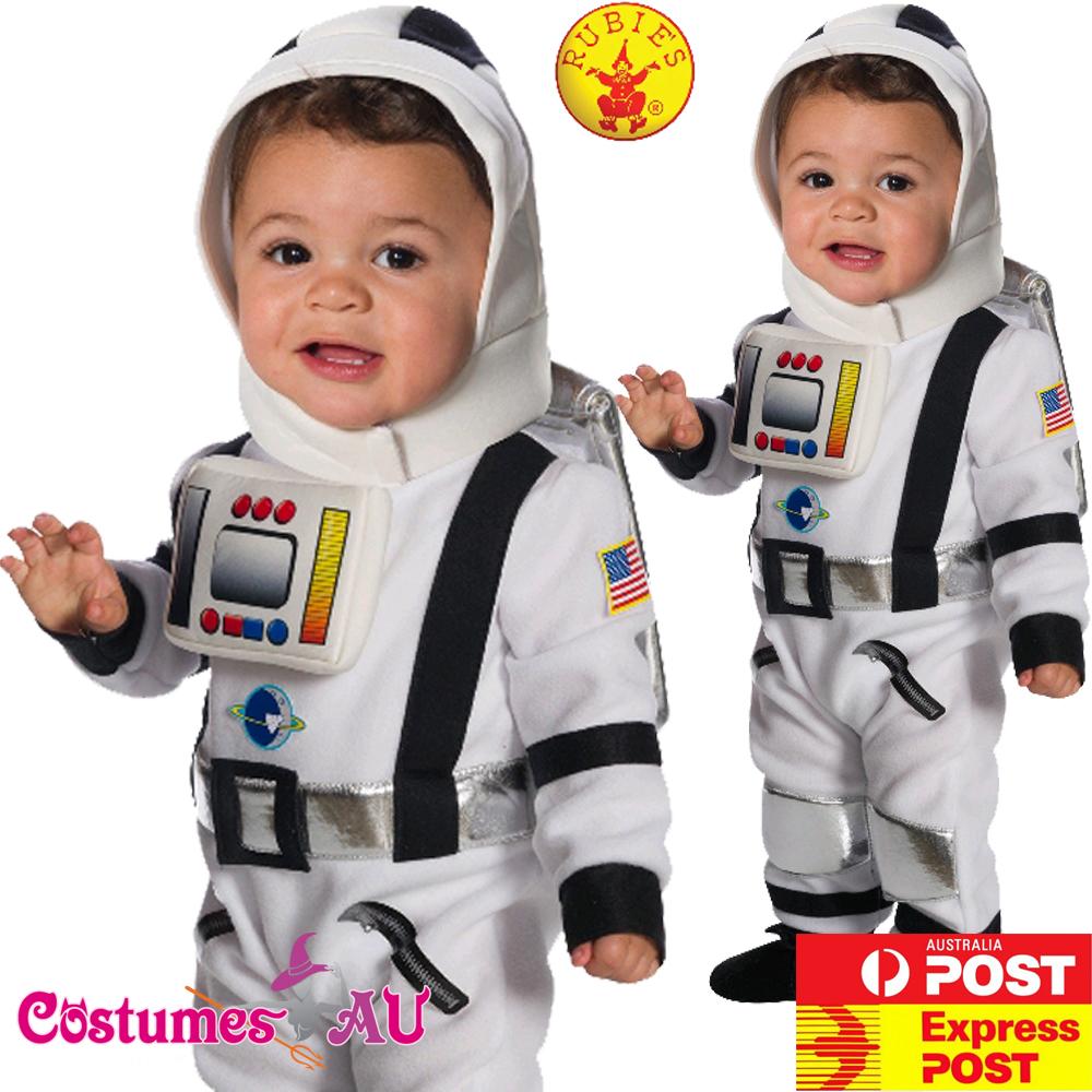 Deluxe Child Astronaut Apollo Costume Space Man Kids Boys NASA Book Week Uniform