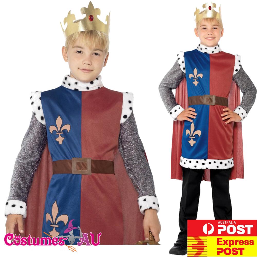 Child Medieval King Arthur Tunic