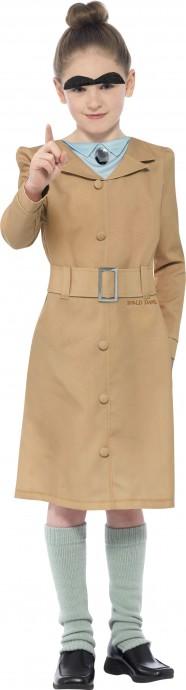 Roald Dahl Miss Trunchbull Girls World Book Week Fancy Dress Kid Costume