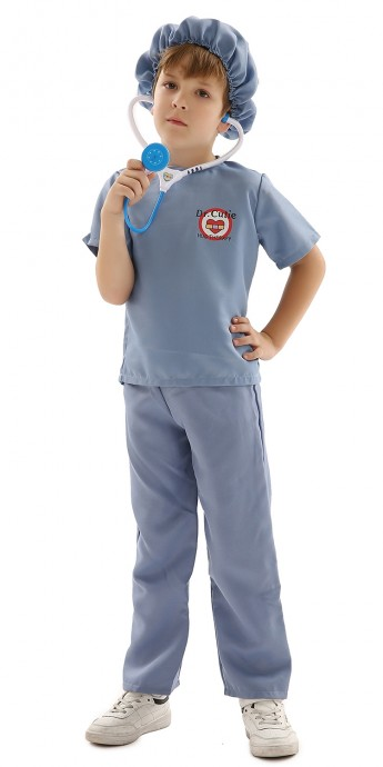 Kids Doctors Surgeon Nurse Costume