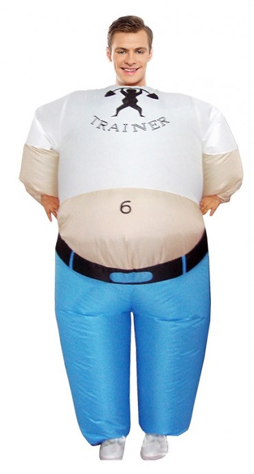 Trainer inflatable costume 2013
