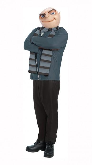 Disney Felonius Gru Despicable Me Villain Mens Minion Boss Fancy Dress Up Halloween Costume