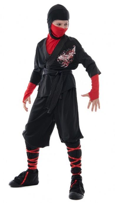 Kids Ninja Kung Fu Costume lp1060
