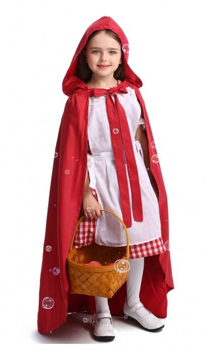 Red Riding Hood Costume Girls