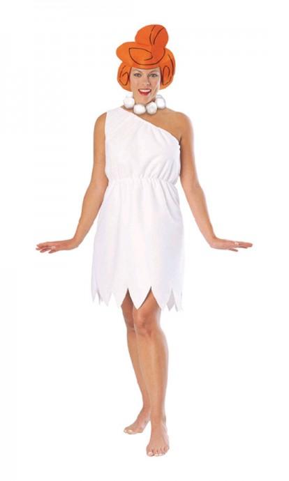 Ladies Wilma Flintstones Fred Flintstone Flint Stone Licensed Adult Halloween Costume