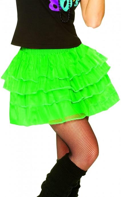 Green 80s Pettiskirt lh186green