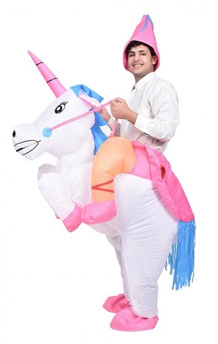 unicorn carry me inflatable costume tt2018-1