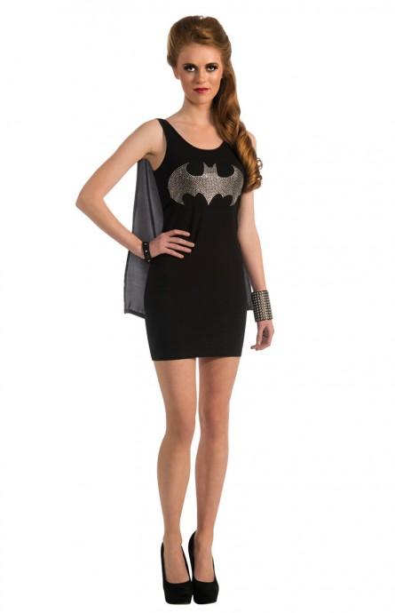 Batgirl & Batman Costumes - Ladies Halloween Rubie's Gotham Batgirl Bat girl Fancy Dress Costume Outfits