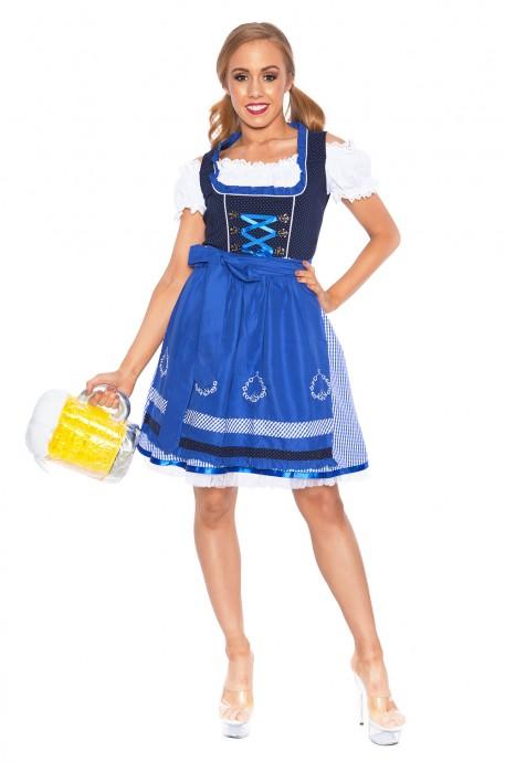 Ladies Beer Maid Heidi Costume lh302nb