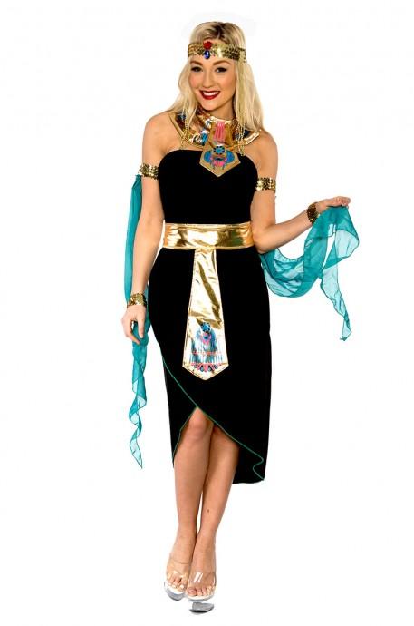 Queen Cleopatra Egyptian Goddess Fancy Dress