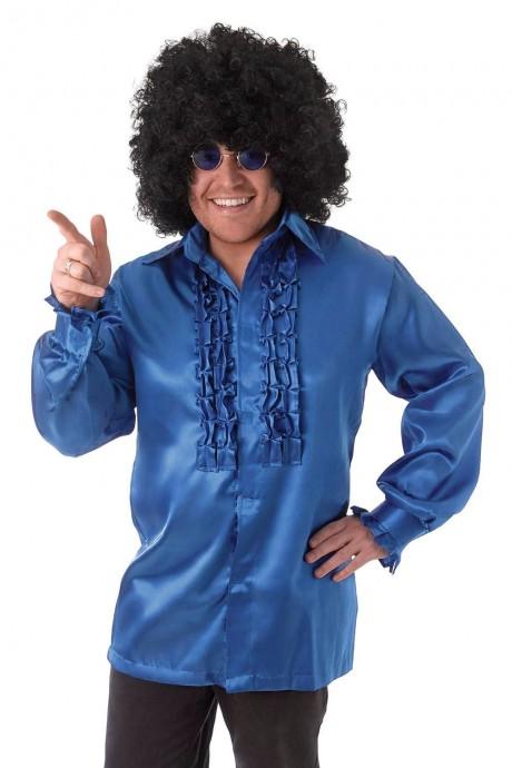 Mens 60's 70's Groovy Hippie Shirt Costume