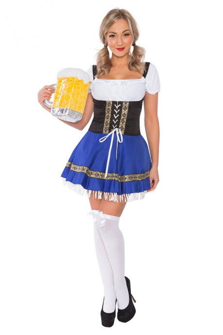 Ladies Bavarian Beer Maid Costume lh301b