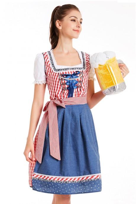 Ladies German Vintage costume lh326r