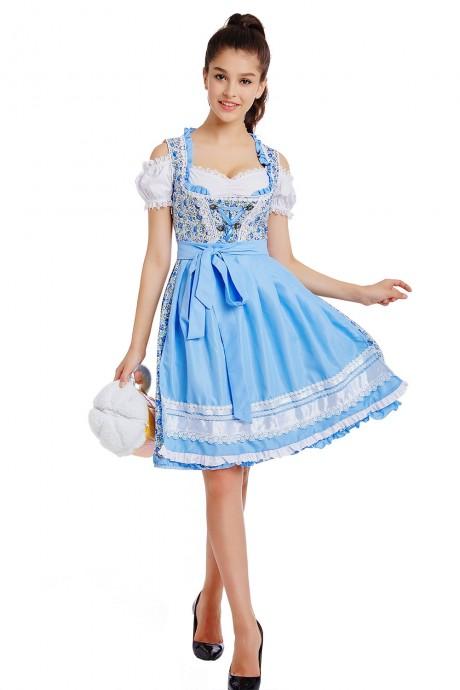 Beer Maid Oktoberfest costume lh330