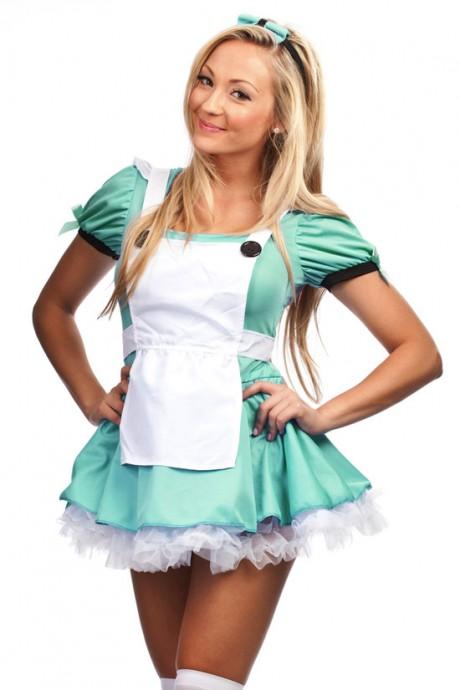 Alice In Wonderland Costumes lz8624g