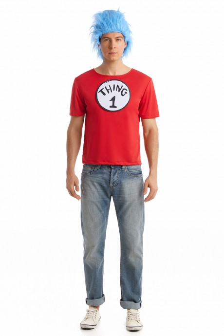 Mens Cat In The Hat Thing T-Shirt  PP1009 + PP1013