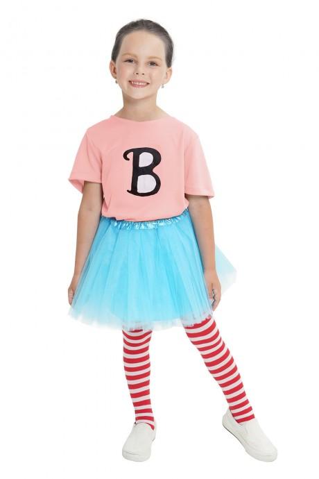 Pink Billie B Brown T-shirt