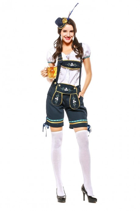 Ladies Oktoberfest Beer Maid Costume tt3106
