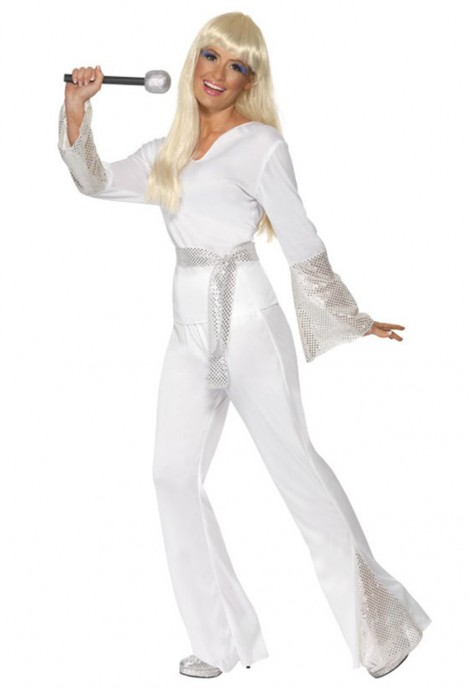 60s, 70s Costumes Australia - Licensed 1970s 70s 1960s 60s Pop Abba Tribute Retro Outfits Go Go Retro Hippie Girl Disco Dancing Groovy Party Halloween Costume