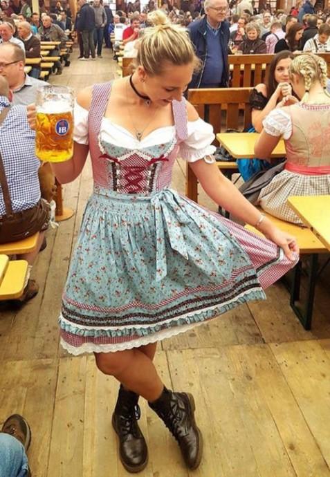 Oktoberfest Bavarian costume lh317n