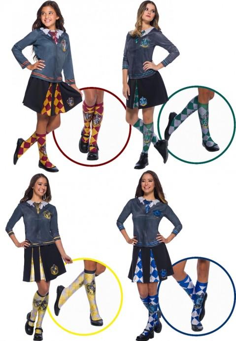 Hufflepuff Ravenclaw Gryffindor Slytherin Harry Potter Socks