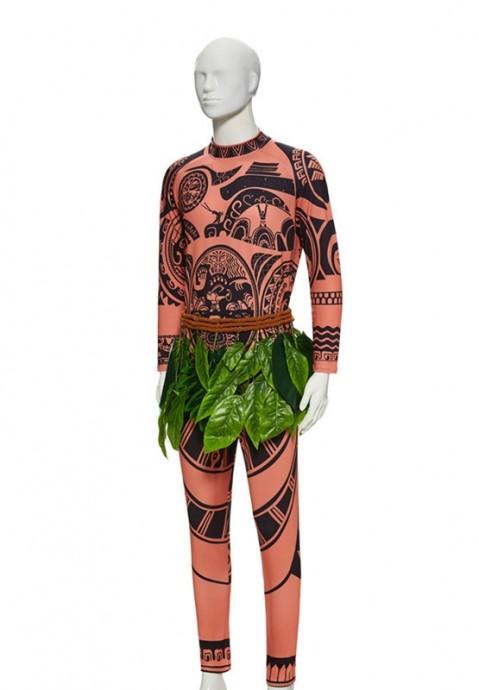 Mens Moana Maui Tattoo Costume