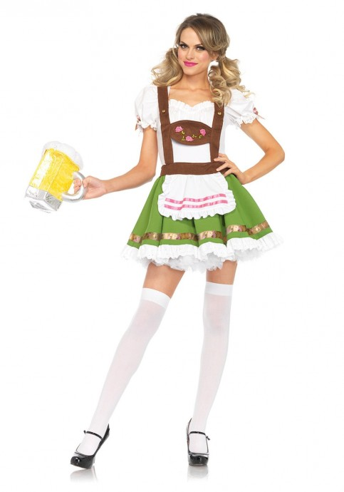 Beer Maid Vintage costume lh325